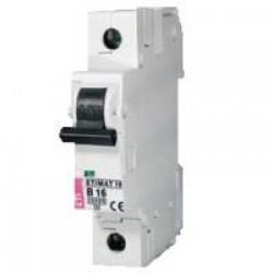 Автоматический выключатель  ETIMAT 10  16A 1p D