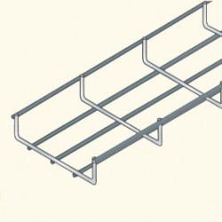 Сетчатый лоток 30х100, гальванизированная сталь UF30/100HDG (548531) Tolmega