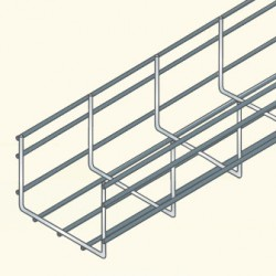 Сетчатый лоток 105х300, гальванизированная сталь UF105/300HDG (548597) Tolmega