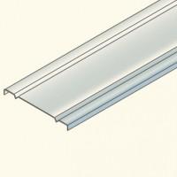 Защитная крышка на лоток 100мм,  гальванизированная сталь CO100HDG Tolm(548051) Tolmega