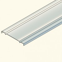 Защитная крышка на лоток 200мм,  гальванизированная сталь CO200HDG Tolm(548053) Tolmega