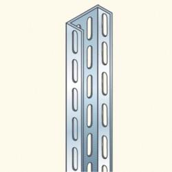 BM-профиль, 3м, толщина 2мм, гальванизированная сталь BM3000/2HDG Tolme(628007) Tolmega