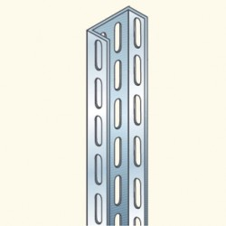 BM-профиль, 3м, толщина 2мм, оцинкованный BM3000/2G (627007) Tolmega