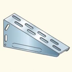 EDF-кронштейн 130x640, гальванизированная сталь EDF130x640HDG (613010) Tolmega