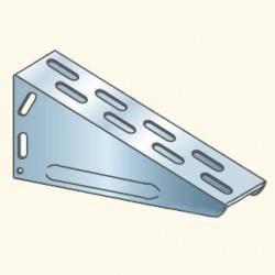 EDF-кронштейн 90x550, гальванизированная сталь EDF90x550HDG (613009) Tolmega