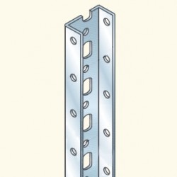 EDF-профиль, 2м, толщина 2мм, гальванизированная сталь EDF2000/2HDG Tol(628004) Tolmega