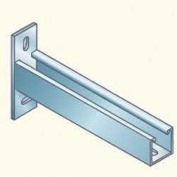 PS-кронштейн 41х41, 544мм, гальванизированная сталь PS651-50HDG (678126) Tolmega