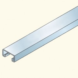 PS-швеллер 41х21 не перфорированный, 3м, гальванизированная сталь PS530(653036) Tolmega