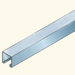 PS-швеллер 41х41 не перфорированный, 3м, оцинкованный PS230/3G (652033) Tolmega
