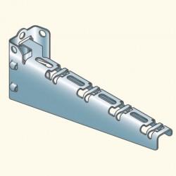 U- кронштейн для лотка 200мм, нерж.сталь 304 C200Ui304L (759003) Tolmega