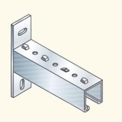 UF-кронштейн для лотка 150мм, гальванизированная сталь UF51-15HDG Tolme(553074) Tolmega