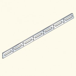 Соединитель лотков, винтовой, 600мм, гальванизированная сталь ELU600HDG(553044) Tolmega