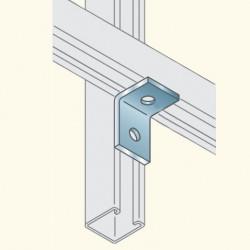 Соединитель швеллеров, г-образный, гальванизированная сталь PS604HDG To(678032) Tolmega