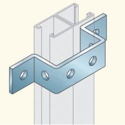 Соединитель швеллеров, гальванизированная сталь PS721HDG (678048) Tolmega