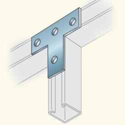 Соединитель швеллеров, т-образный, гальванизированная сталь PS714HDG To(678023) Tolmega