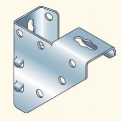 Универсальный угловой кронштейн, оцинкованный CORNERG (757205) Tolmega