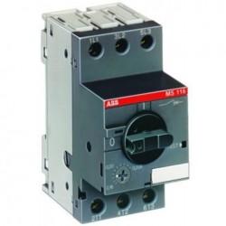 MS116-6,3 автоматический выключатель защиты двигателя 1SAM250000R1009 ABB