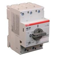 Автоматический выключатель защиты двигателя MS325-0,4  1SAM150000R1003 ABB