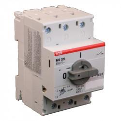 Автоматический выключатель защиты двигателя MO325-1,6  1SAM160000R1006 ABB