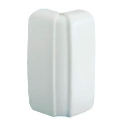 AEBA внешний изменяемый угол, цвет белый RAL9001 04030 ДКС