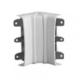 AIBA внутренний изменяемый угол, цвет белый RAL9001 04017 ДКС