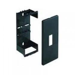 CMA-4N NR Суппорт для автоматеских выключателей в колонны BIS, 4 модуля, цвет черный RAL7021 03079 ДКС
