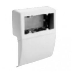 SBA6 коробка под розетку п/р 100х53, 6 модулей, цвет черный RAL7021 04048 ДКС
