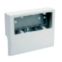 SBN6 коробка под розетку для TBN п/р 100х53, 6 модулей, цвет белый RAL9001 03407 ДКС