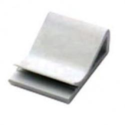 Клипса самоклеящаяся для плоского кабеля, цвет белый, 25х26х9,6 мм