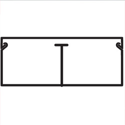 TMC 30/2x10 Миниканал, цвет белый RAL9001 00309 ДКС