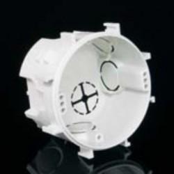 Приборная коробка d-70 (с соединительными лапами d-75)мм, глубина 45мм КР 67/3 КОПОС