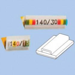 Площадка самоклеящаяся для маркировочных символов, длина 23 мм, для 10 символов 140/23 ДКС