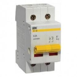 Выключатель нагрузки ВН-32 2Р 40А ІЕК MNV10-2-040