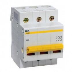 Выключатель нагрузки ВН-32 3Р 63А ІЕК MNV10-3-063
