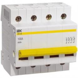 Выключатель нагрузки ВН-32 4Р  25А  ІЕК MNV10-4-025