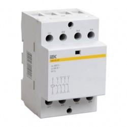 Контактор модульный КМ63-40 AC/DC ІЕК (шт.) MKK20-63-40