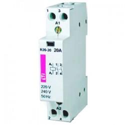 Контактор R 20-11 230V AC 20A (AC1) 2461220 ETI