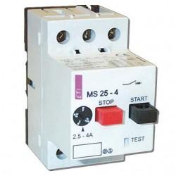 Авт.выключатель защиты двигателя  MS25-6,3 4600090 ETI