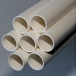 Труба дренажная ПВХ жёсткая гладкая д.20мм, 2м, цвет белый, AIR2820, ДКС