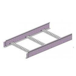 Лестничный лоток 80х200, L3000, inox, LL8020INOX, ДКС
