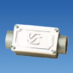 Соединитель откр.труба-труба резьбовой М20 IP55, STE-COB2-20
