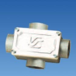 Соединитель откр.крестообразный резьбовой М25 IP55, STE-COB4-25