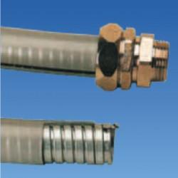 Металлорукав в полимер. оболочке, усиленный на разрыв, д.15.5x21, IP67, STE-FC15PD67
