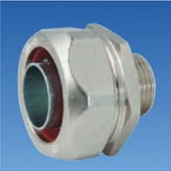 Соединитель металлорукова 20мм к резьбовому соединителю M20, STE-FCB20-20