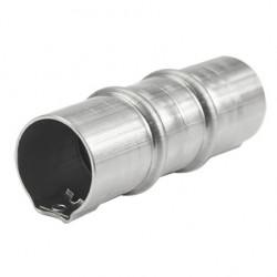 Соединитель труба-труба, 20мм, нерж.сталь 304L, IP67, ST4020C1, Stilma