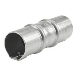 Соединитель труба-труба, 50мм, нерж.сталь 304L, IP67, ST4050C1, Stilma