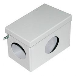 Коробка соединительная 120х70x60, IP53, окрашенная, стальная, серая, SB0120B3, Stilma