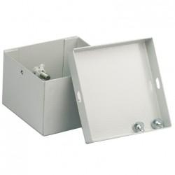 Коробка соединительная 100х100x55, IP53, окрашенная, стальная, серая, SB0100B1, Stilma