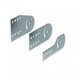 Пластина крепежная GSV H50, цинк-ламельная, 30013ZL, ДКС