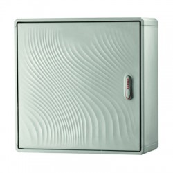 Навесной шкаф из фибергласа Conchiglia 370х580х330мм, IP55, 77501906, ДКС